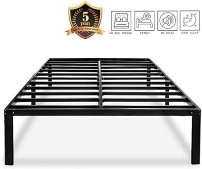 HAAGEEP Metal Platform Bed Frame