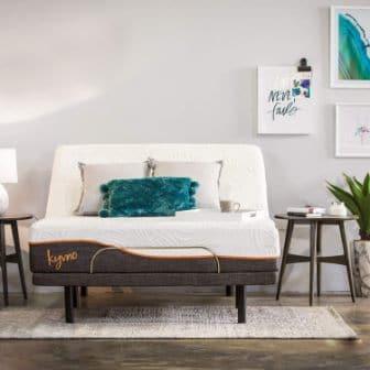 KYVNO GEL-COOLING ADJUSTABLE BED FRAME