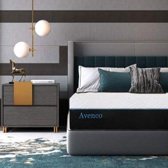 King-size memory foam mattress by Avenco
