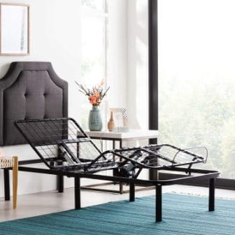 LINENSPA Motorized Twin XL Adjustable Bed Base