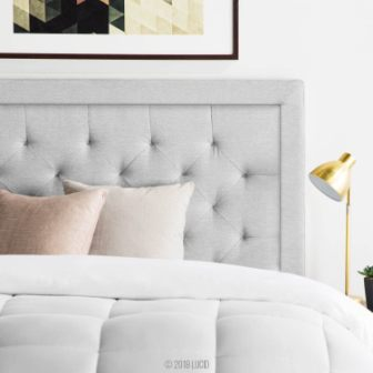 LUCID Bordered Upholstered Headboard