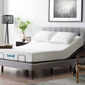 LUCID L300 Ergonomic Twin XL Adjustable Bed Base (Top Pick)