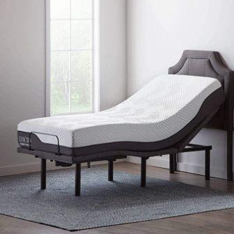 LUCID L600 FULL SIZE ADJUSTABLE BED FRAME