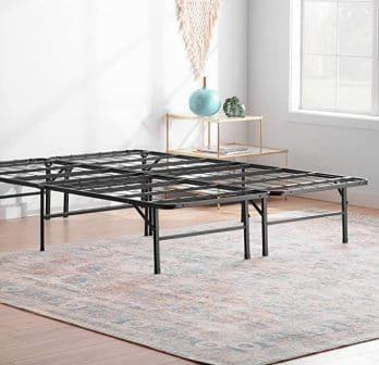 Linenspa Folding Metal Platform Bed Frame 14 Inch