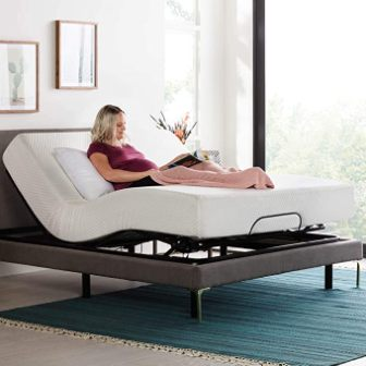 Linenspa Motorized Queen Sized Adjustable Bed