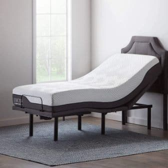 Lucid L600 Adjustable Bed Base Frame
