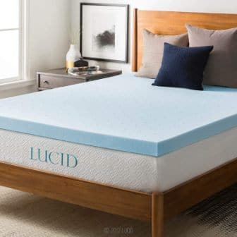 Lucid Memory Foam King Size Mattress