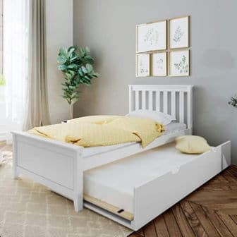 Max & Lily 186210-002 Platform Bed with Trundle