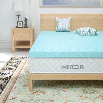 Mecor 4-Inch Memory Foam Mattress Topper