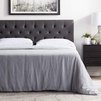 Mid-Rise Upholstered Headboard by LUCID