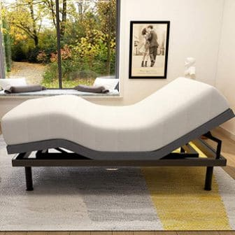 Milemont Store Adjustable Bed Base Frame