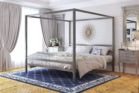 Modern luxury canopy bed by DHP