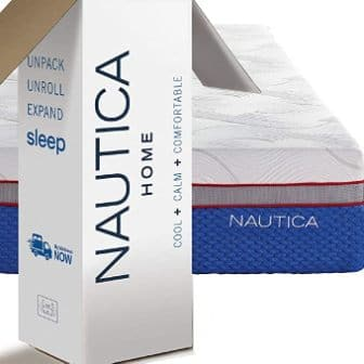 Queen-size 12-inch mattress by Nautica Home