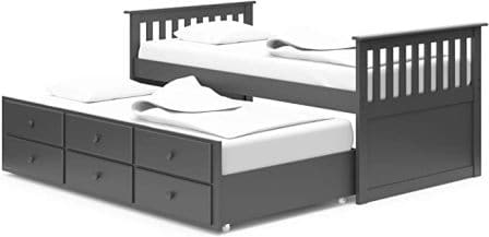 Storkcraft Captain's Bed with Trundle