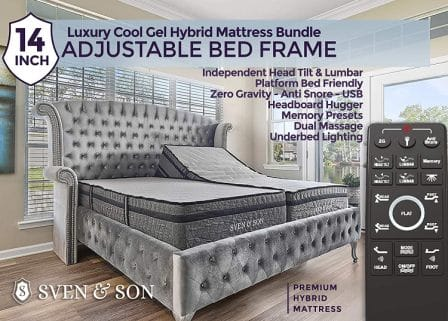 Sven & Son Adjustable Bed Base Review