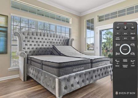 Sven & Son Split King Adjustable Bed Base
