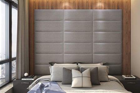 Upholstered wall panel by Art3d
