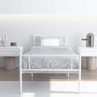 WeeHom Single Metal Bed Frame