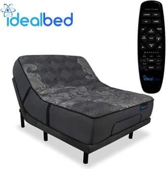 iDealBed iQ5 Luxury Hybrid Mattress and Adjustable Bed Sleep System