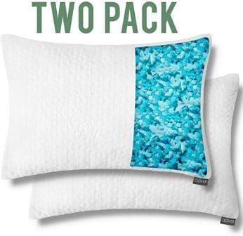 2-pack Shredded memory foam pillow by Dapper Display