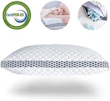 4D adjustable loft design cooling pillow by LIANLAM