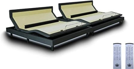 Dynasty Mattress DM9000s Split Cal King Adjustable Bed Base Frame