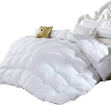 Egyptian Bedding Goose Down Alternative Comforter