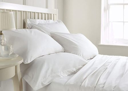 Egyptian cotton sheets from Bluemoon Homes