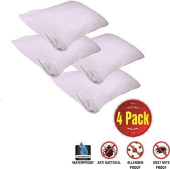 Niagara Sleep Solution Store Pillows – Set of 4