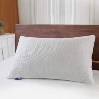 Shredded fills bamboo cooling pillow by Sweetnight