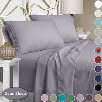 Ultra-soft microfiber sheets from Mejoroom