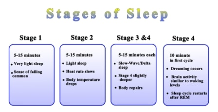 stages of sleep 2020