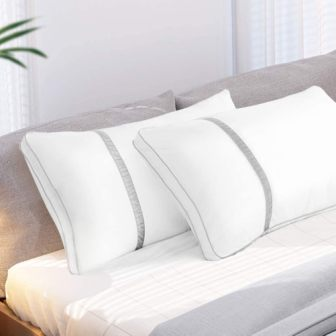 2-piece hotel-quality king-size pillow by BedStory