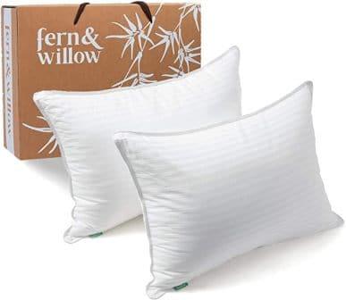 Fern and Willow Premium Down Alternative Pillow