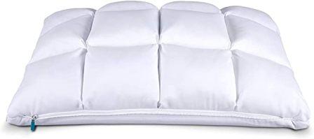 Leesa Luxury Hybrid Reversible Cooling Foam/Quilted Pillow