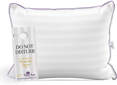 Queen Anne Store Down Alternative Hypoallergenic Pillows