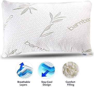 Sleepsia Store Bamboo Pillow
