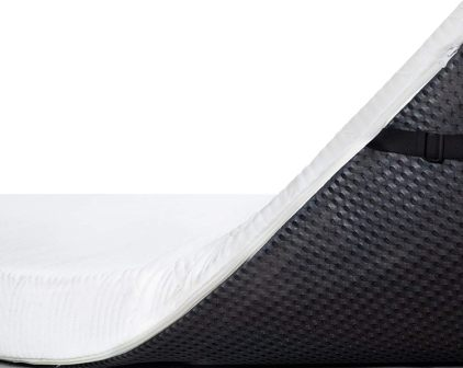 ViscoSoft 4-Inch Active Cooling Memory Foam Mattress Topper