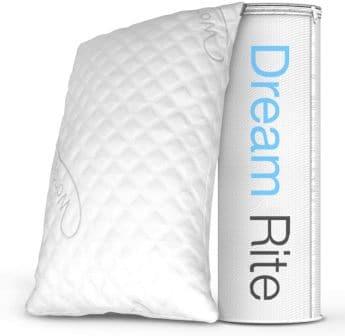 1-pack shredded memory foam pillow by WonderSleep