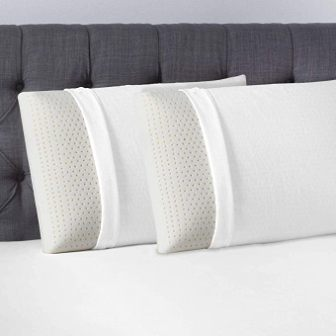 2-in-a-pack Talalay latex pillow by Beautyrest