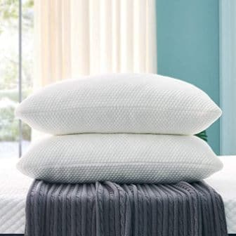 2-pack adjustable shredded memory foam pillow by OYT