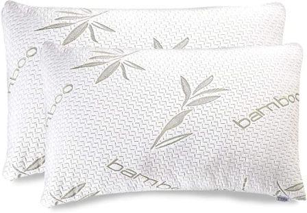 2-piece king size memory foam pillow by Sleepsia