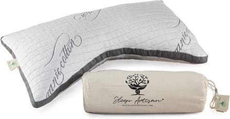 Adjustable natural latex pillow by Sleep Artisan