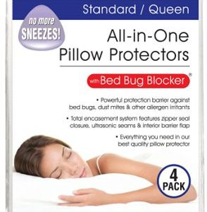 Bed Bug Blocker All-in-One Pillow Protector