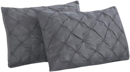 Microfiber pillow shams from Vaulia