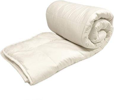 OrganicTextiles Australian Wool Mattress Pad