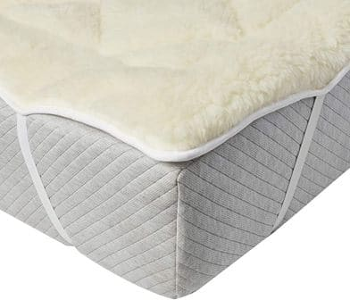 Perfect Fit Queen Size Wool Mattress Topper