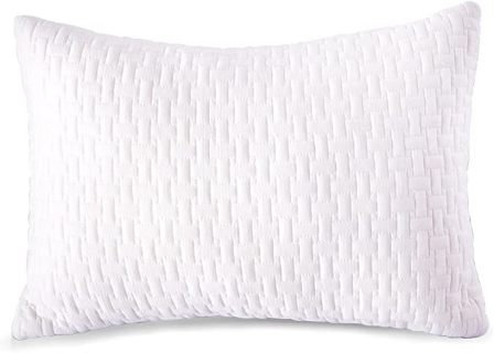Queen-size bamboo cooling shredded memory foam pillow by Sable