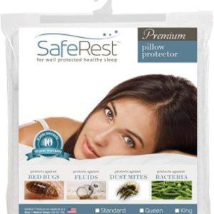 SafeRest Premium Waterproof Pillow Protector