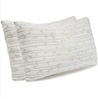 Standard-size shredded memory foam pillow by Clara Clark
